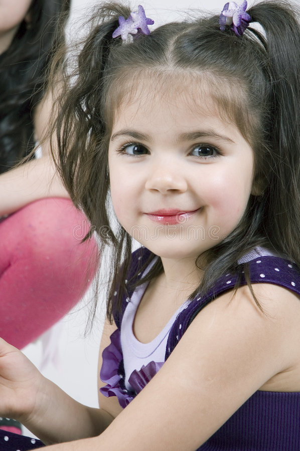 Süßes Mädchen stockfotos