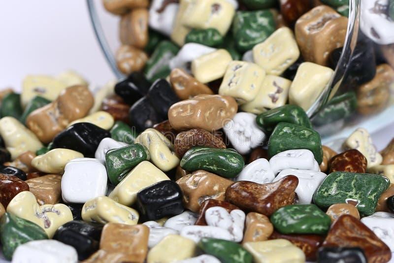 Süßes Süßigkeitsdragée lizenzfreie stockfotos