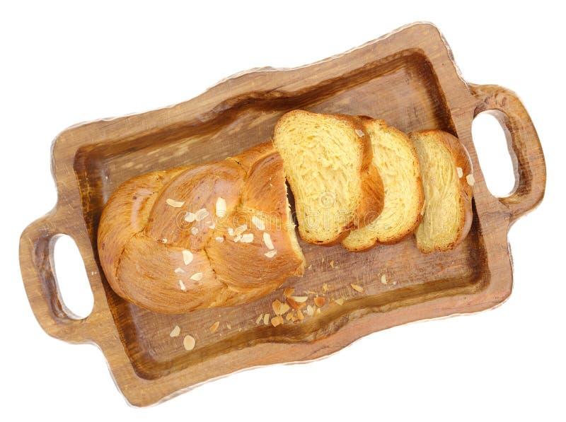 Süßes umsponnenes Briochebrot lizenzfreies stockbild