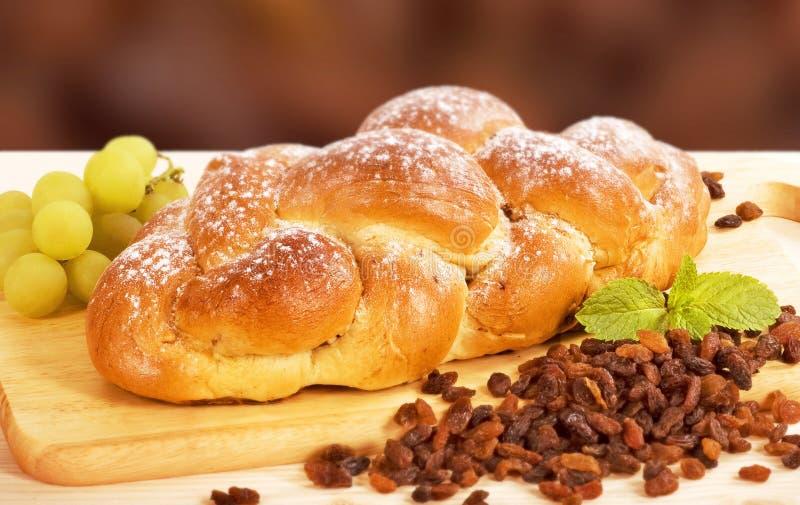 Süßes umsponnenes Brot lizenzfreie stockfotos