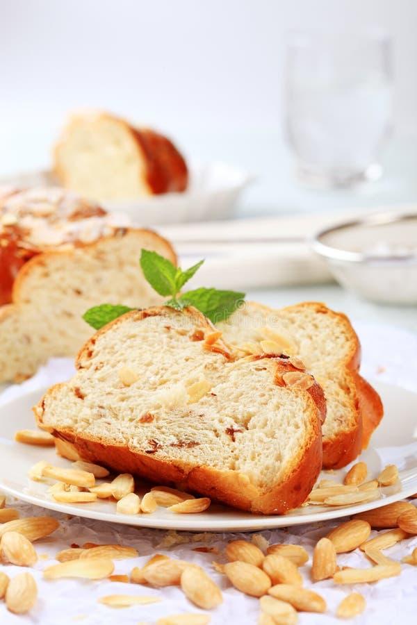 Süßes umsponnenes Brot lizenzfreies stockfoto