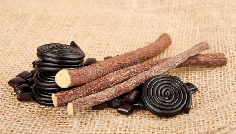 Download Süßholzansammlung stockfoto. Bild von jutefaser, geschmack - 27728960