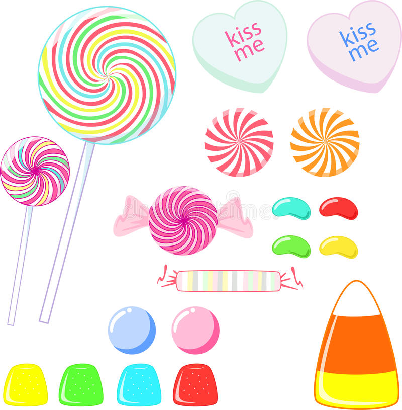 Süßigkeit stock abbildung