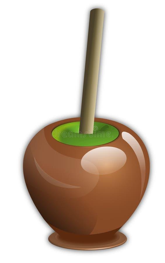 Süßigkeit Apple lizenzfreie abbildung