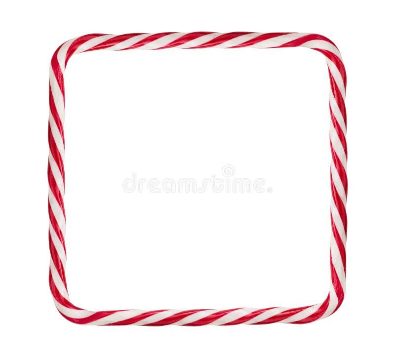 Süßigkeit Cane Frame lizenzfreies stockbild