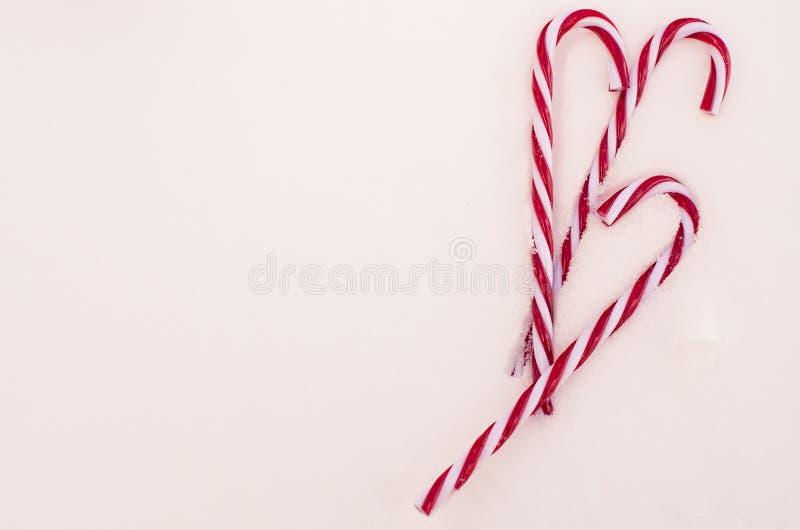 Süßigkeit Cane Trio lizenzfreies stockfoto