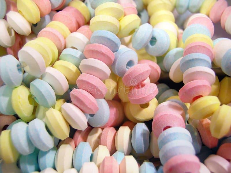 Süßigkeit-Halsketten stockfoto