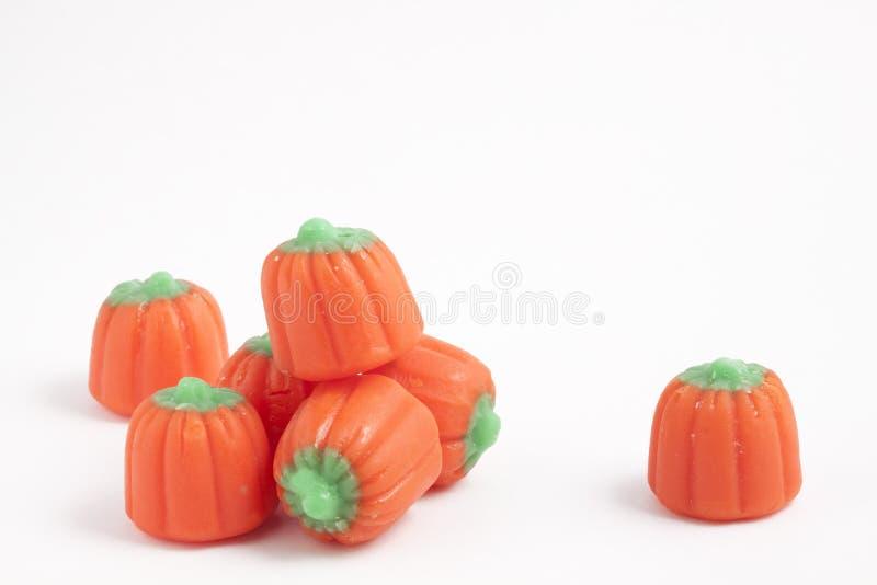 Süßigkeit-Kürbise lizenzfreie stockfotos
