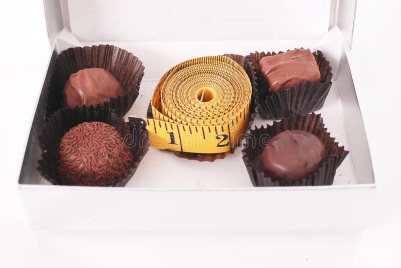 Süßigkeit-Kasten-Wahrheit stockbild