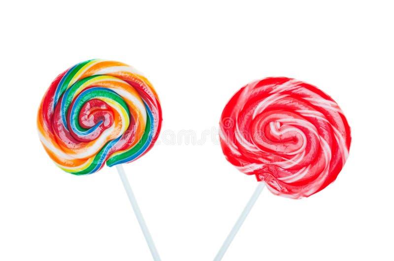 Süßigkeit-Lutscher lizenzfreies stockbild