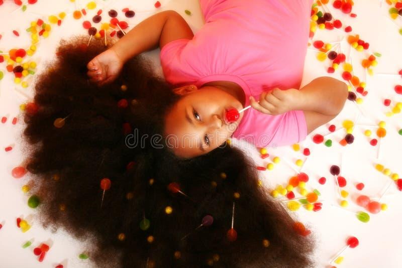 Süßigkeit-Mädchen stockfotografie