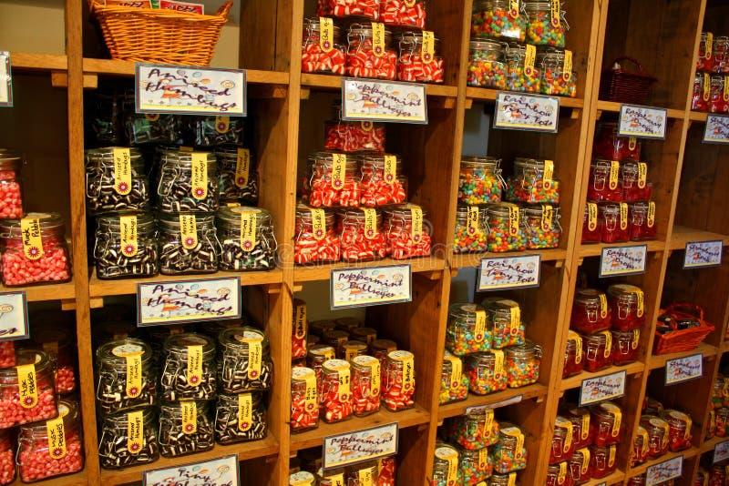 Süßigkeit-Speicher lizenzfreie stockbilder