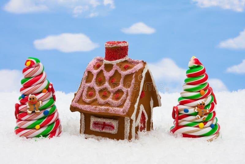 Süßigkeit-Weihnachtsbaum stockfotografie
