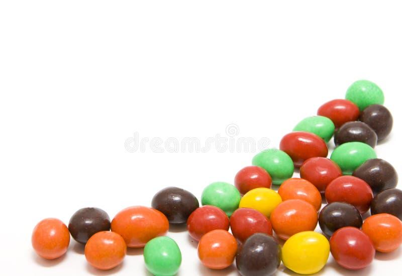 Süßigkeitdragée stockbild