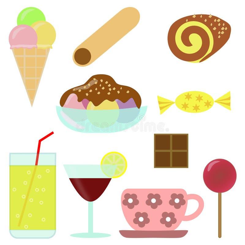 Süßigkeiten - cliparts lizenzfreie abbildung
