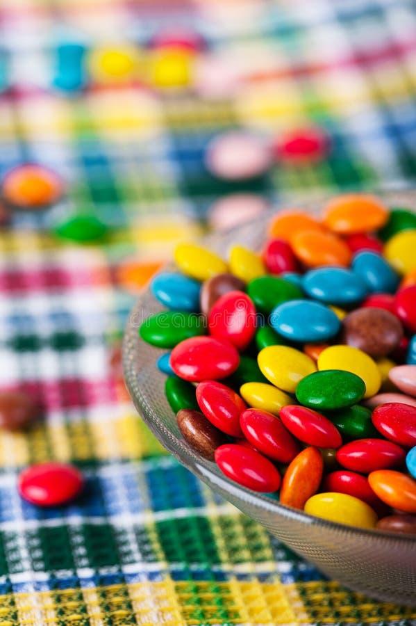 Süßigkeiten im Vase lizenzfreie stockbilder