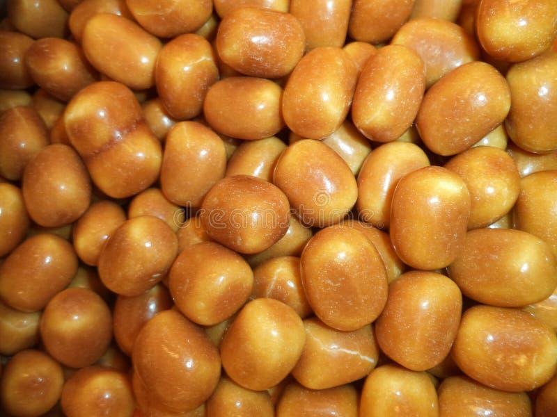 Süßigkeiten, Seesteindragées stockbild