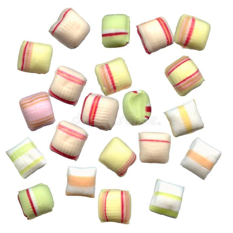 Süßigkeitfarben stockfotografie