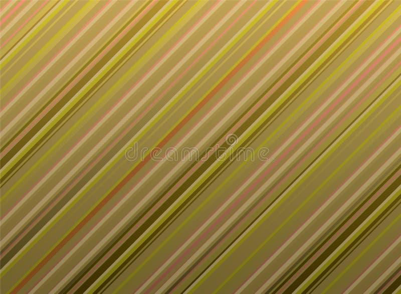 Süßigkeitgold stock abbildung