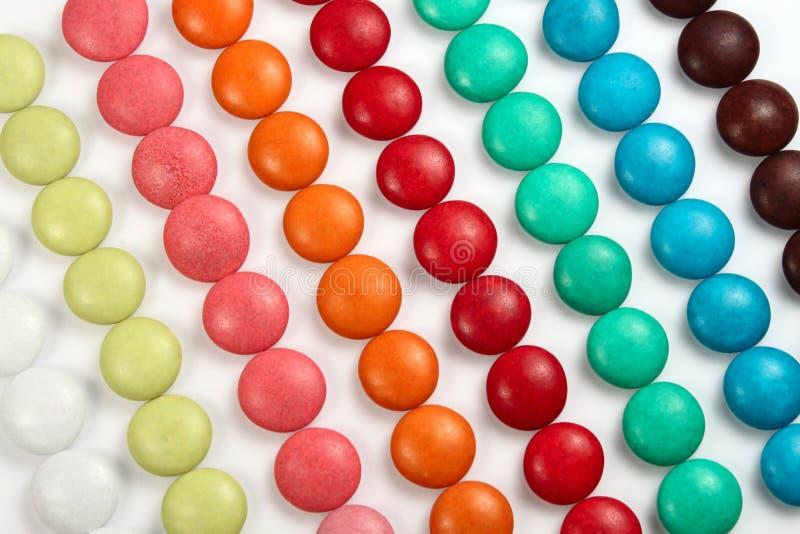 Süßigkeithintergrund lizenzfreie stockfotos