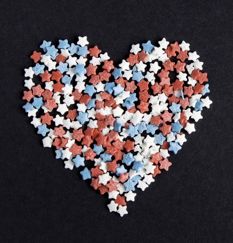 Süßigkeits-Herz stockfoto