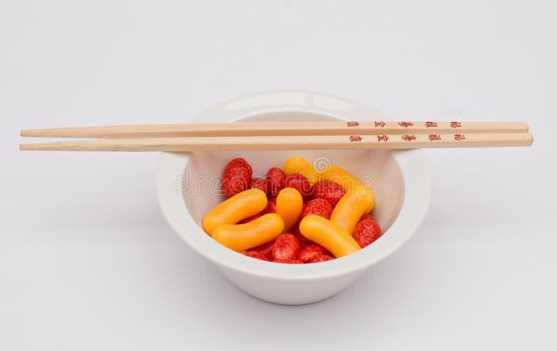 Süßigkeitschüssel lizenzfreie stockfotografie