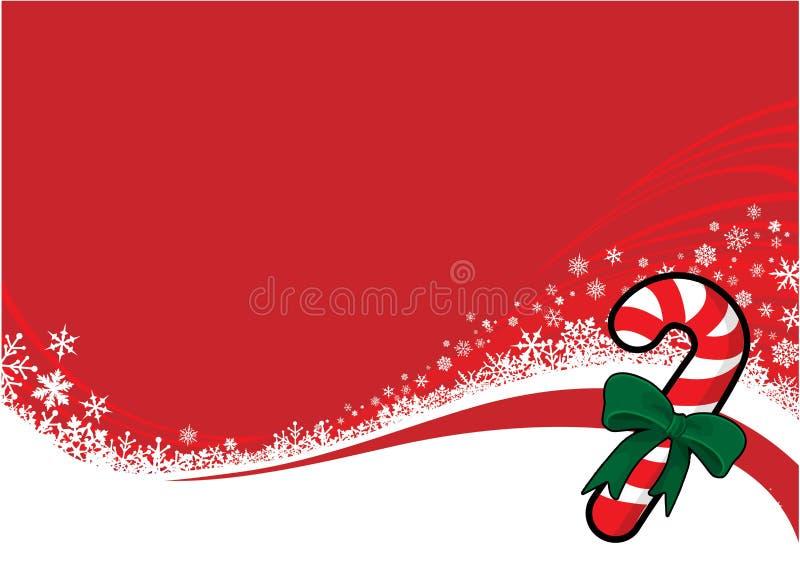 Süßigkeitweihnachten vektor abbildung