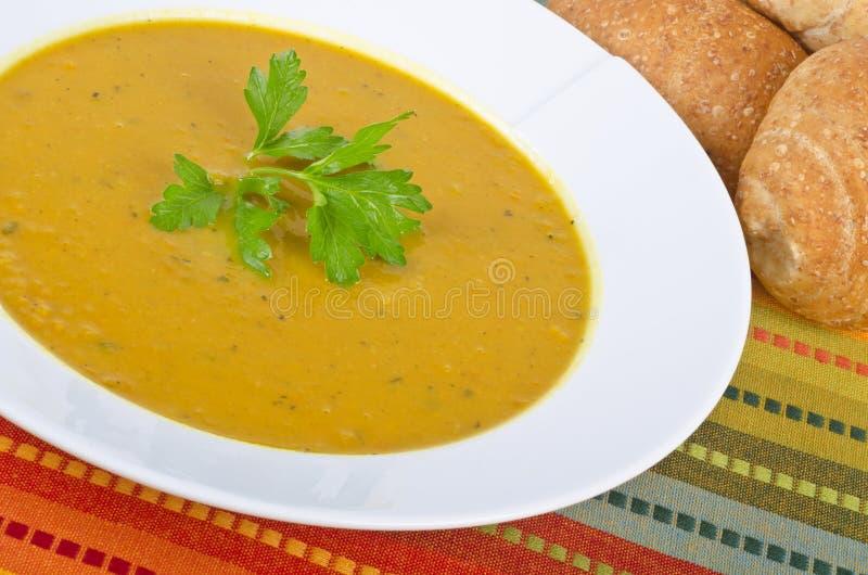 Süßkartoffel-Suppe #3 stockbilder