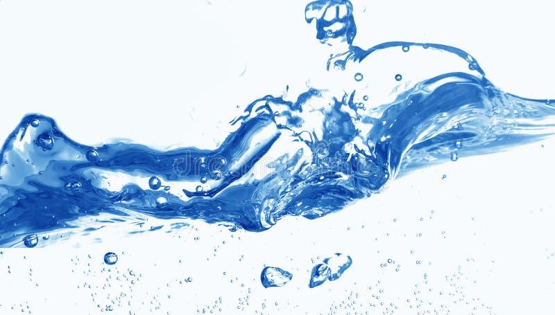 Süßwasserspritzen stockfotografie