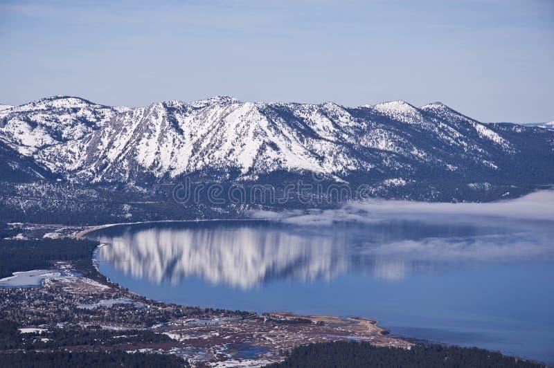 Süd-Lake- Tahoeantenne stockfotos
