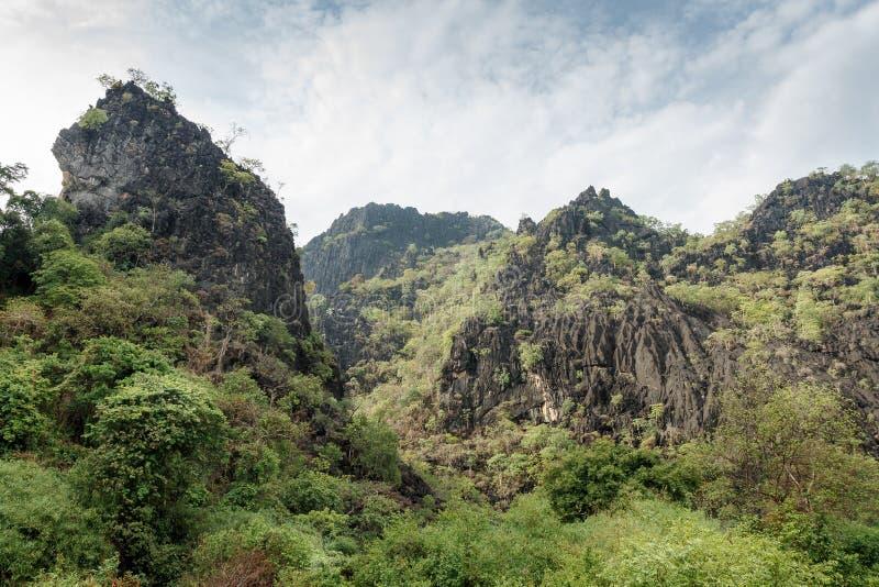 Süd-Laos-Szene stockbild