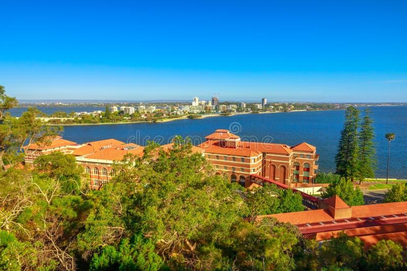 Süd-Perth-Antenne stockbild