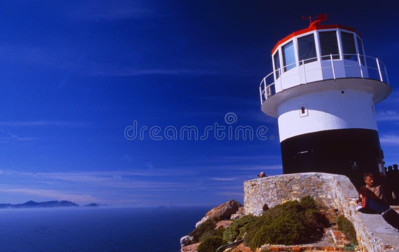 Südafrika: Der Kap-Punktleuchtturm 70 Kilometer südlich von Cape Town stockfotos