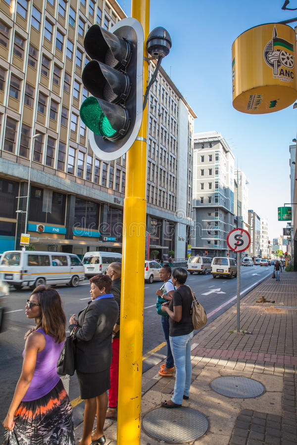 Südafrika - Johannesburg stockfoto