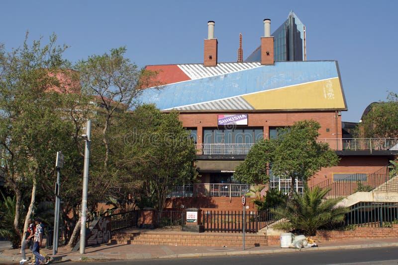 Südafrikanische Brauerei in Newtown, Johannesburg lizenzfreies stockfoto