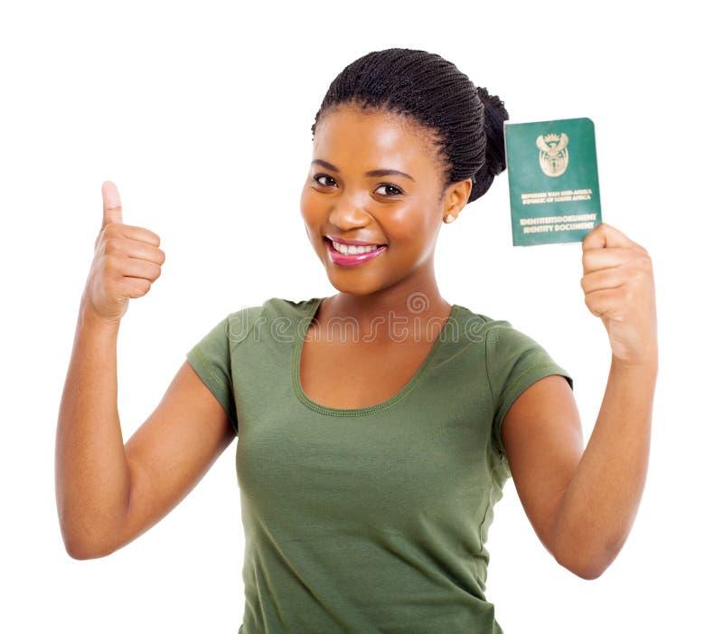 Südafrikanische Identifikation lizenzfreie stockbilder