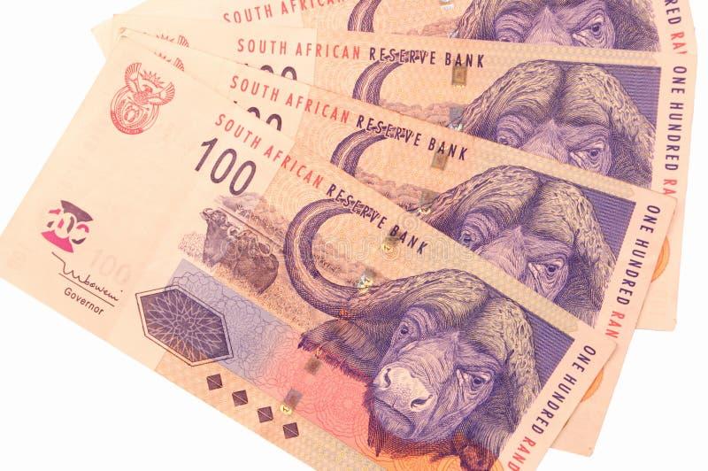 Südafrikanisches Bargeld Lizenzfreies Stockfoto