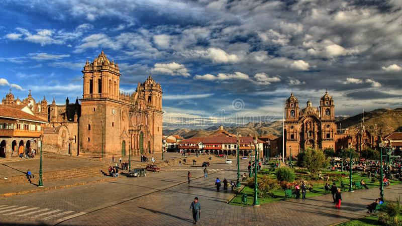 Südamerika 2013 stockbild