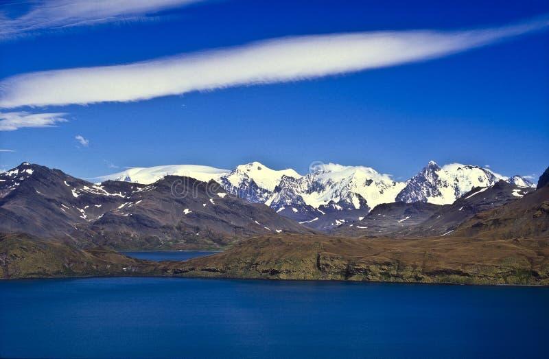 Südgeorgia-Berge stockfoto