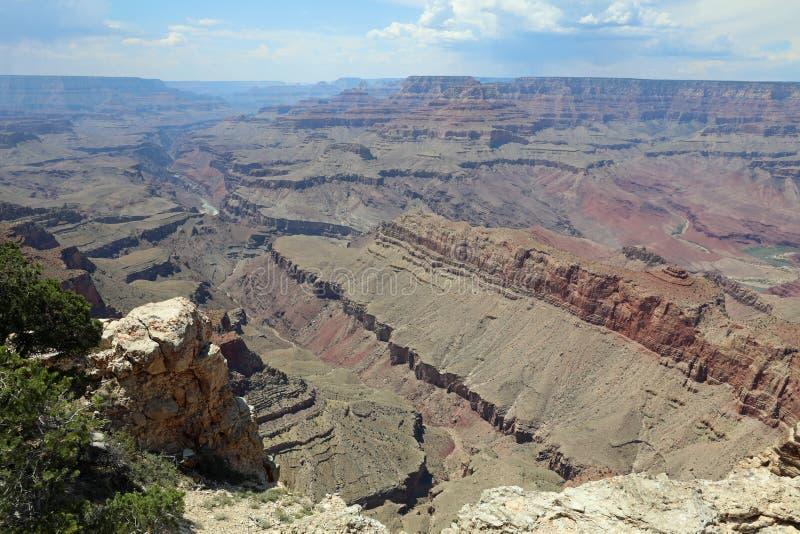 Südkante in Nationalpark Grand Canyon s lizenzfreie stockfotos