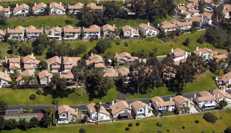 Südliche Kalifornien-Häuser lizenzfreie stockfotografie