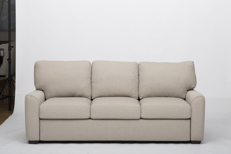 Südliche Möbel Bradley Sofa, natürliche Größe des Stuhls, erstaunliche Schnittcouches mit Recliners-Sofa Recliner And Chaise Loun lizenzfreies stockbild
