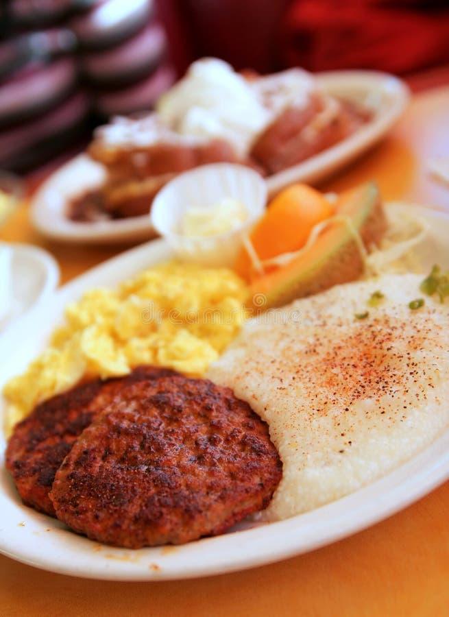 Südliches Frühstück stockbilder