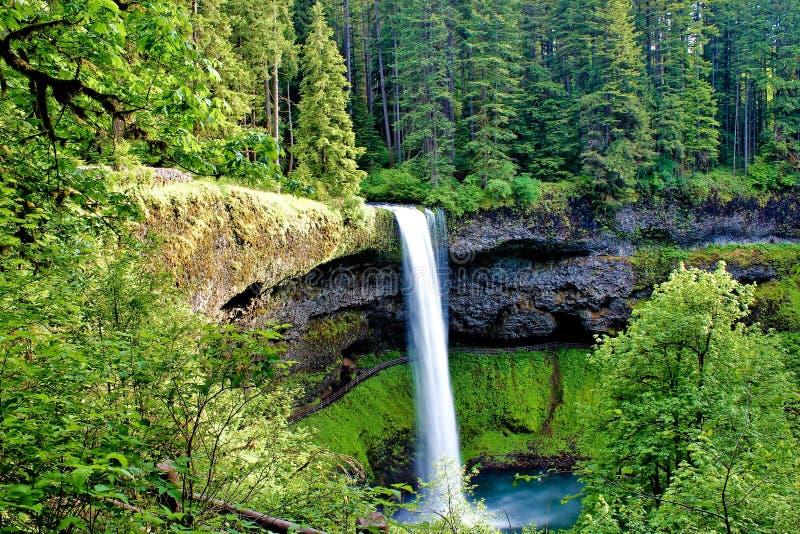 Südsilber fällt in Oregon stockfoto