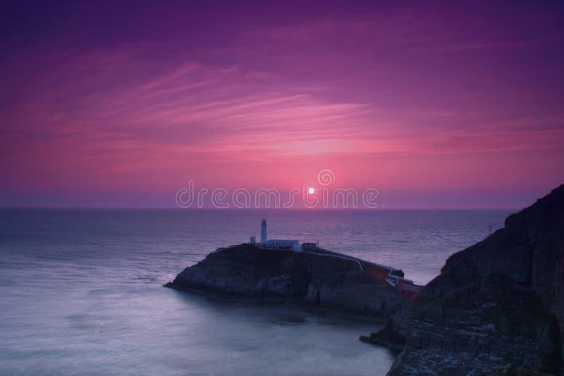 Südstapel-Leuchtturm lizenzfreies stockbild