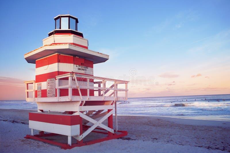 Südstrand von Miami, Vereinigte Staaten stockfotos