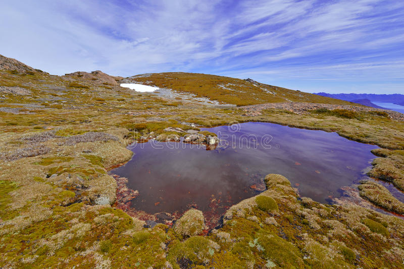 Südwestnationalpark Tasmanien, Australien lizenzfreie stockbilder