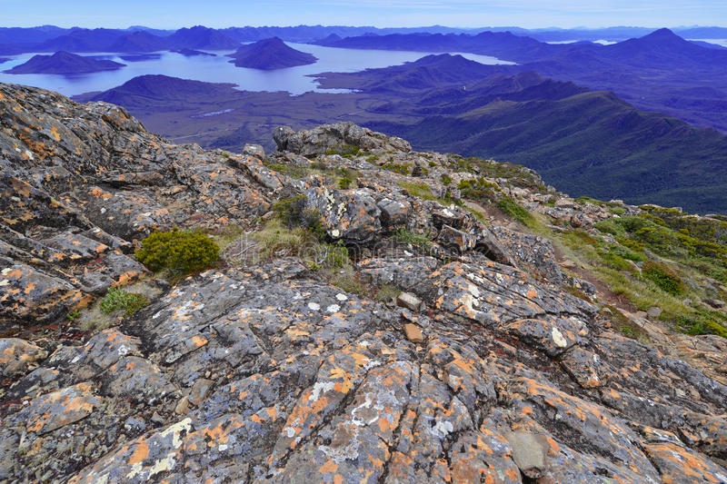 Südwestnationalpark Tasmanien, Australien stockfoto