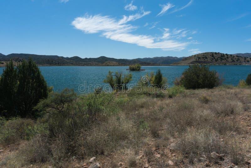 Südwestnew mexico ' s Bill Evans Lake stockbilder