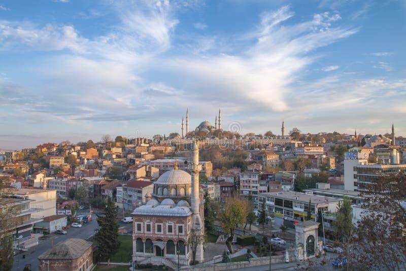 Süleymaniyemoskee - Istanboel royalty-vrije stock foto
